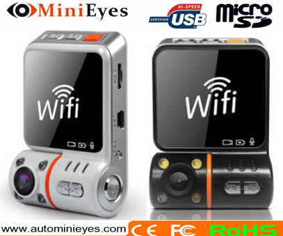 Newest Security Mate Wifi 3G wireless video recorder dash cam