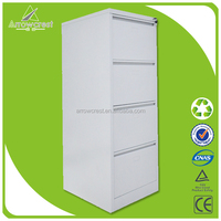 Office furniture vertical godrej 4 drawer storage steel filling cabinet