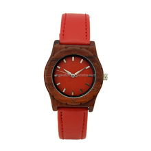 wholesale bewell wood watch custom your logo fashion women's wooden watch