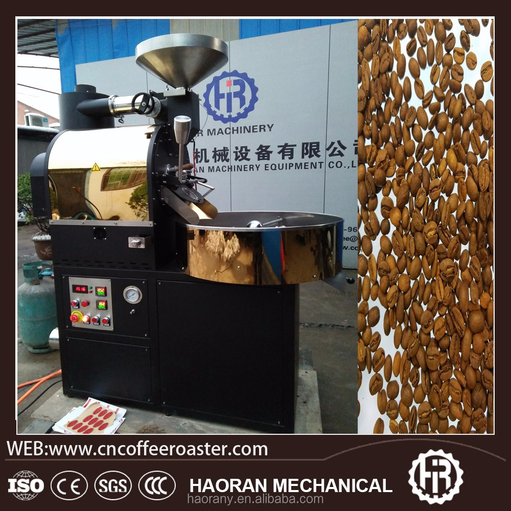 Industrial drum 5kg coffee roaster/coffee roasting machine for sale
