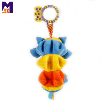 Hanging baby stroller toy soft plush toy for baby