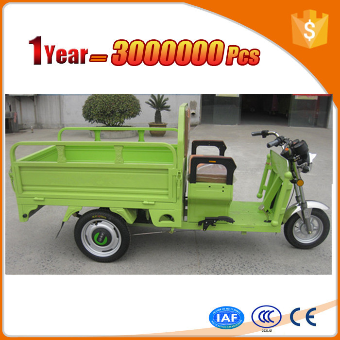 charging type newest borac battery assisted electric tricycle with awning