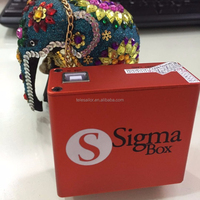 Post Shipping .Unlock box of Sigma box +pack 1/2/3 full active with 9pcs Cable for Chinese mobilephone