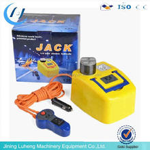 Portable 1/2/3tons 12v electric car jack and wrench set for sale