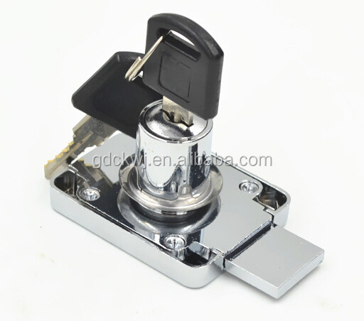 professional manufacturer zinc alloy cheapest iron cam lock chrome multi cabinet drawer lock