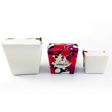 Chinese paper noodle box design fast food noodle box
