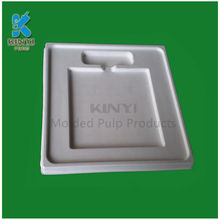 Paper Pulp Packaging Inserts for Boxes, Customized Biodegradable Insert Packaging