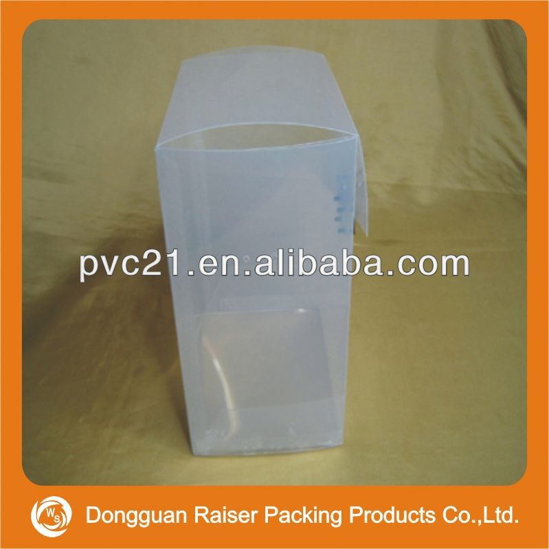 2013 popular clear plastic round cake box