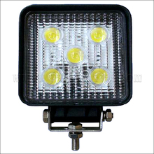 One row 15w led work lights for truck off jeep excavator motorcycle Goatsucker JY-524