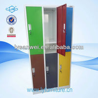 popular selling fashion clothes locker with hanging rods