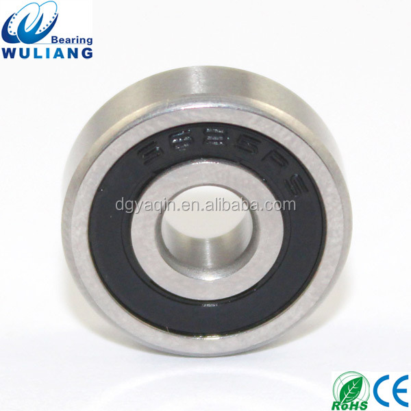 China Hot Sale 5x16x5mm watch rotor bearing ss625-2rs