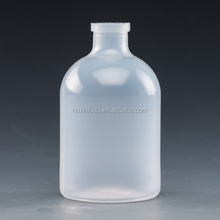 Hot sale!!!clear PP plastic sterile vaccine / antibiotics / injection vials 50ml 100ml