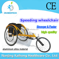 Outdoor handicapped sport wheelchair for racing
