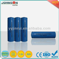 aa 1.5v rechargeable alkaline battery for regenerator