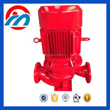 Electric centrifugal fire hydrant pump