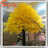 wholesale artificial gingko tree yellow leaves trees large outdoor plastic maidenhair trees
