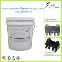 Jorle two component graphite electronic epoxy resin for bonding glass
