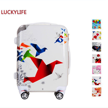 new products kids travel one case suitcases with card