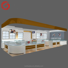 15 years professional store design mall sunglasses kiosk for glasses sale
