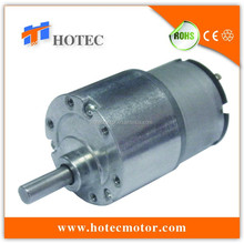low voltage 12V 24V Electric Motor and Gearbox 1-5 rpm