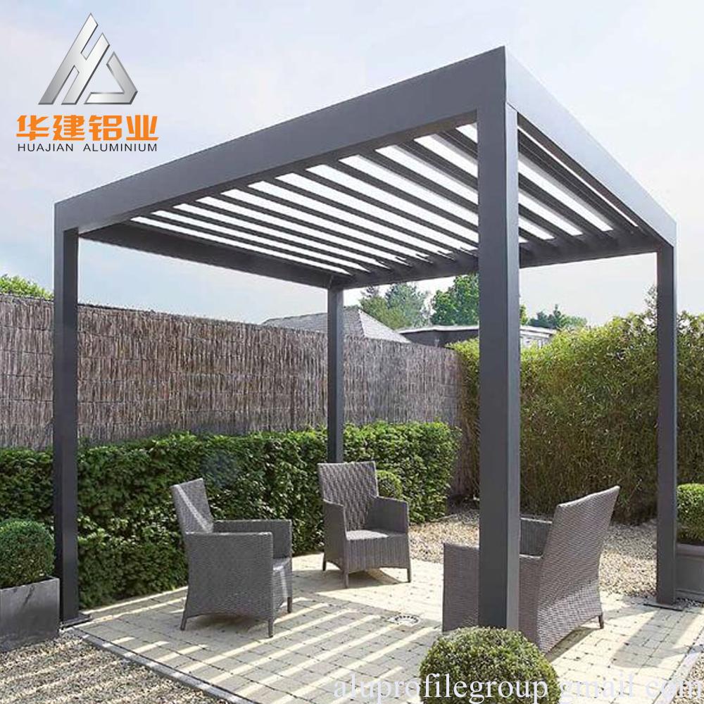 Cina Produsen Modern Modern Aluminium Pergola Buy Modern