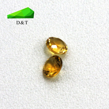 Top quality round shape natural citrine raw gemstone for sale