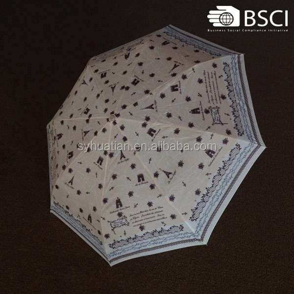 Top quality 8 ribs dream umbrella end cap from China