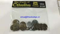 Custom game token coins,custom metal coins,cheap custom token coins