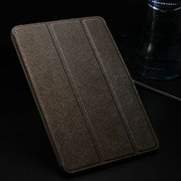 OEM decorative leather book case for ipad mini,hot selling unique designed case for ipad mini with stand function,case for mini