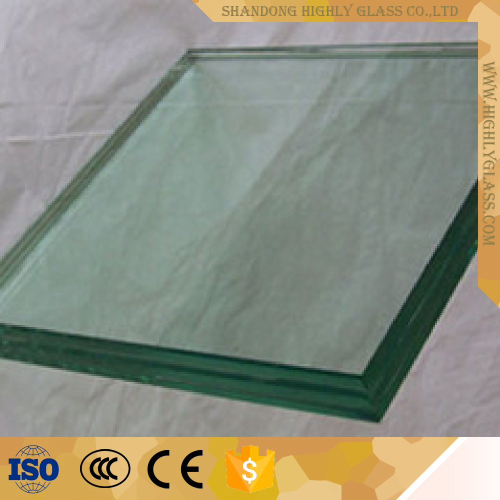 Hot fence panel tempered laminated glass