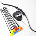 Archery helment, bow with foam tip arrows for archery sports