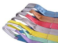 custom weight lifting belts, polyester flat belt, webbing slings