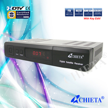Ali3328 Chipset SD DVB-S Digital TV Satellite Receiver with MPEG-2 Decoding