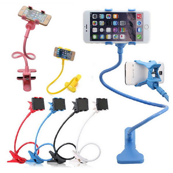 Fantastic Holder for the Cell Phone Standard Flexible 360 degree Desk Table Car Plastic Mobile Phone Holder