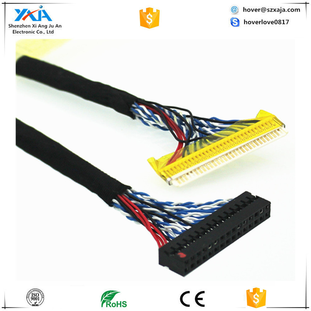 JAE Series 50P 51P LCD Screen LVDS Cable with JAE connector