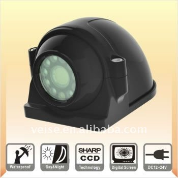Side View mini Camera for Commercial Truck, Bus,Delivery van