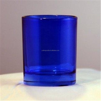 Popular items for sea glass colors candle jar glass tealight candle holder votive for home
