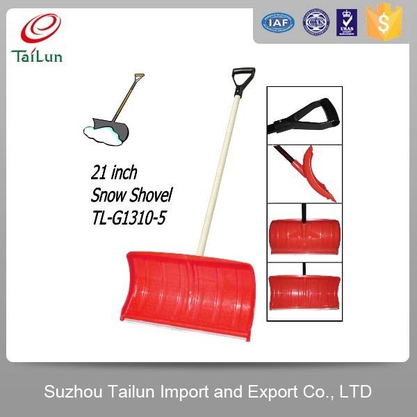 plastic coated snow shovel shovel with holes