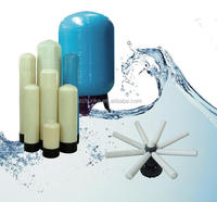 1000L ro water filter parts/frp plastic water tank