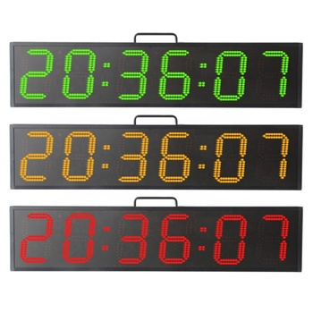 Portable 6 Inch 6 Digits Sports Timing Digital Stopwatch Countdown Timer Sport