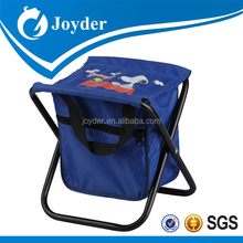 modern outdoor metal garden furniture cooler camping stool /fishing stool backpack
