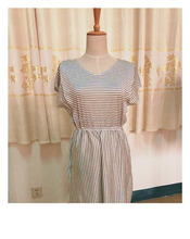 2017 Summer comfortable stripe dress