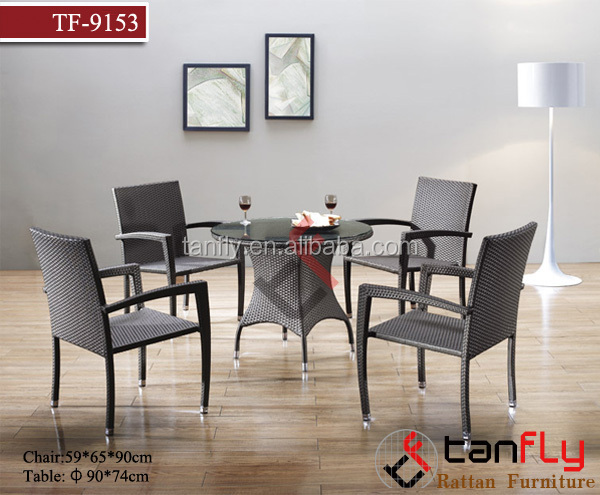 popular comfortable wicker furniuture dining room furniture