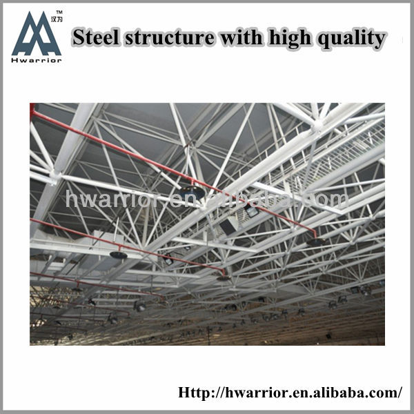 CE Certificated Wide Span Light Steel Structure Building