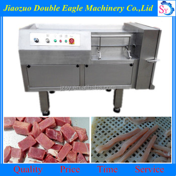Multifunction small automatic frozen meat block cutting machine/Stainless steel fruit and vegetable cutting machine