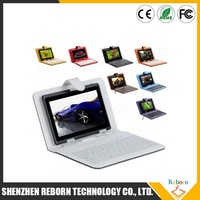 10 inch touch tablet case with USB keyboard