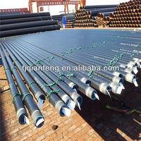 fluid pipe 3LPE coating anti-corrosion steel pipes made in china