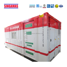 Wholesale standard 20ft transport equipment container work shops with shackle size 8.5t