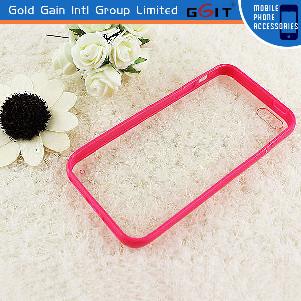 Hot Selling Transparent TPU Case For iPhone 5S, For iPhone 5S Back Cover