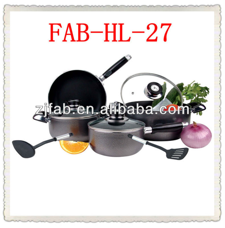 9pcs South America Hot Non Stick Enterprise Quality Cookware
